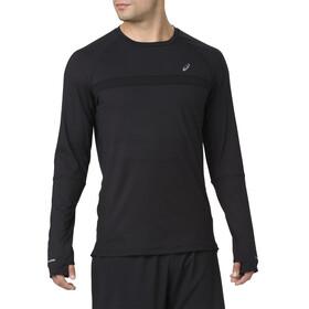 asics Thermopolis Plus Hardloopshirt lange mouwen Heren zwart